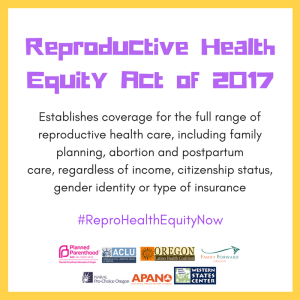 Reproductive Health Equity Act 2017